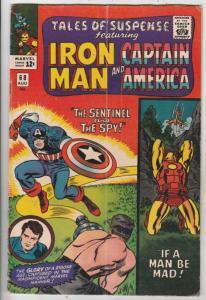 Tales of Suspense #68 (Aug-65) VG/FN Mid-Grade Iron Man, Captain America, Buc...