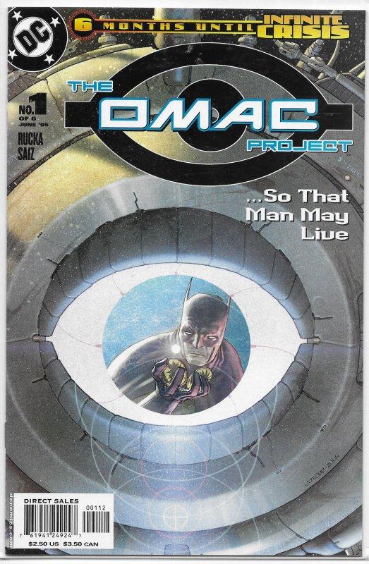 OMAC Project   vol. 1   #1 of 6 (2nd print) VF/NM (Infinite Crisis)