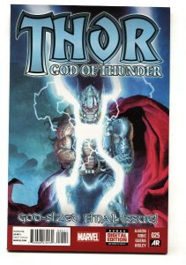 THOR: GOD OF THUNDER #25 2nd Jane Foster as Thor comic book Marvel-NM-