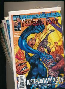Marvel LOT OF 7 FANTASTIC FOUR #2-5, 15, 25 & #1 Heros Return VF+ (PJ115)
