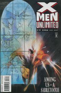 X-Men Unlimited #3 VF/NM; Marvel | save on shipping - details inside