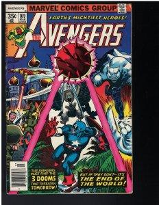 Avengers #169 (Marvel, 1977) FN+