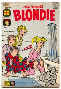 Blondie Comics #143 1961- Harvey humor VG