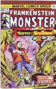 Frankenstein, the Monster of #15 (Mar-75) VF High-Grade Frankenstein