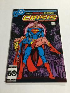 Crisis On Infinite Earths 7 Nm Near Mint Death Of Supergirl DC Comics