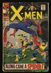 X-Men #35 FA/GD 1.5 Spider-Man! 1st Changeling!