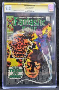 Fantastic Four #78 (Marvel, 1968)  CGC 9.2 SS STAN LEE