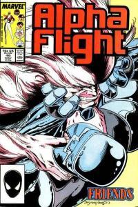 Alpha Flight (1983 series) #46, NM- (Stock photo)