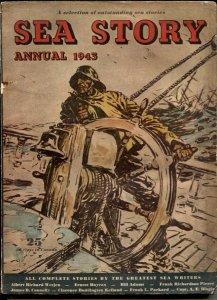 Sea Story Annual 1943- rare pulp- Capt Dingle- Haycox