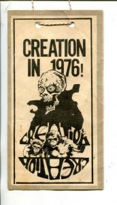 CREATION CONVENTION TICKET 1976-AUTOGRAPHED-GIORDANO-STERANKO-MACLAINE-vg