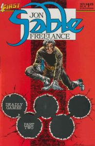 Jon Sable, Freelance #18 VF/NM; First   save on shipping - details inside