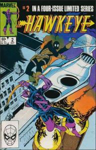 Marvel HAWKEYE (1983 Series) #2 FN+