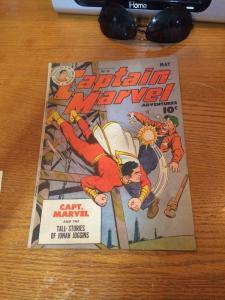 Captain Marvel Adventures 46 Solid 5.0 ! Vg/F Very Good / Fine