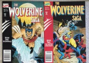 WOLVERINE- FOUR (4) Graphic Novel Lot - SAGA #1, BLACK RIO, BLOODLUST