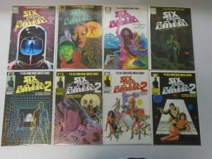 Six from Sirius 2 sets 8 different issues 8.0 VF (1984+85)
