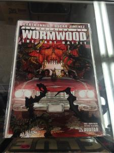 Chronicles of Wormwood Last Battle 1 Sgn Poster Edition NM LTD3000 copies