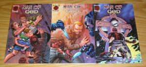 Man of God #1-3 VF/NM complete series - all A variants - pinwheel press