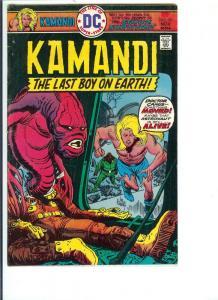 Kamandi, #35, - Bronze Age - Vol. 4, Nov. 1975 (VF)
