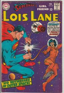 Lois Lane, Superman's Girlfriend  #81 (Feb-68) VF+ High-Grade Superman, Lois ...