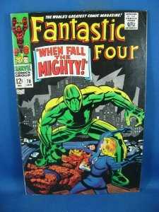 FANTASTIC FOUR 70 F VF  1968