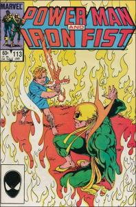 Marvel POWER MAN AND IRON FIST (1978 Series) #113 FN+