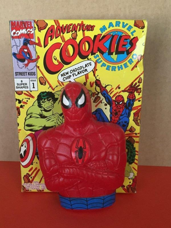 SPIDER-MAN COOKIES & BANK