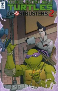 Teenage Mutant Ninja Turtles/Ghostbusters 2 #2A VF/NM; IDW | save on shipping -
