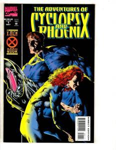 10 Marvel Comics Cyclops & Phoenix 1 2 3 4 + Further 1 2 3 4 + Icons 3 1 CR39