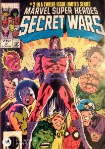 Marvel Super Heroes Secret Wars #2 (1984)