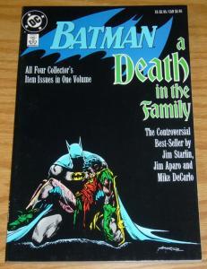 Batman: A Death in the Family TPB VF JOKER KILLS ROBIN jim starlin 426-429 (3rd)