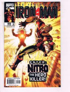 The Invincible Iron Man # 15 VF/NM Marvel Comic Books Avengers Thor Hawkeye SW14