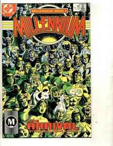 Lot of 10 DC Comic Books Millennium 1 2 3 4 5 6 7 8 Metal Man 1 2 Batman JF10