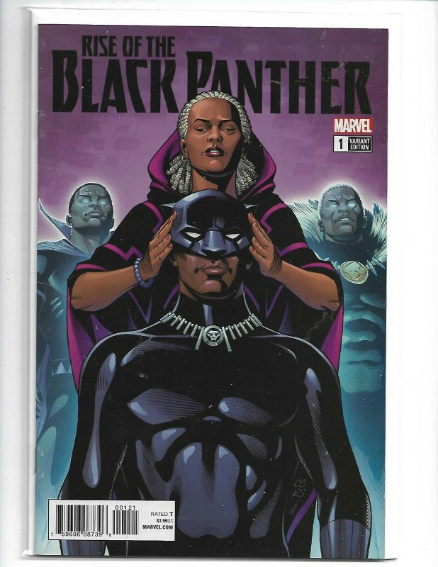 RISE OF THE BLACK PANTHER #1 1:25 SPROUSE VARIANT NM (v16)