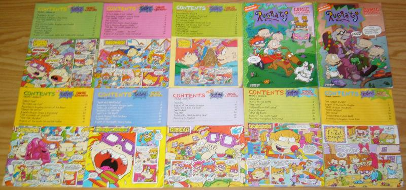 Rugrats Comic Adventures box set - nickelodeon lot
