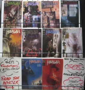 HELLBLAZER (DC/VERTIGO, 1988) #1-10 FINE/+ John Constantine!Delano! Ridgway!