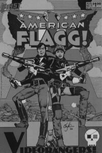 American Flagg! #11, VF+ (Stock photo)