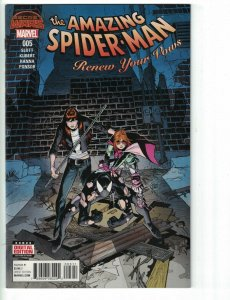 Amazing Spider-Man: Renew Your Vows #5 VF/NM first appearance of spider-mom MJ