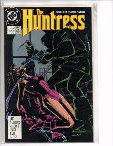 DC Comics The Huntress #5 Joey Cavalieri Story Joe Staton Cover & Art