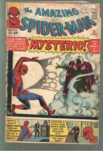 AMAZING SPIDERMAN 13 FA/GD;1ST APPEARANCE MYSTERIO.!