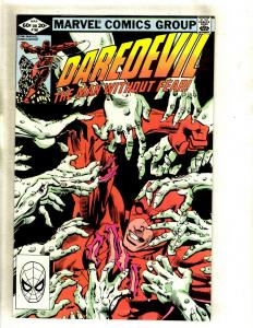 Daredevil # 180 NM- Marvel Comic Book Frank Miller Elektra Bullseye Hand HY1