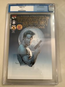 Midnight Nation #1 CGC 9.8 Gold DF Cover COA #1074 Of 4000-Straczynski And Frank