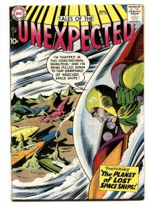 Tales of The Unexpected #28 1958-DC-comic book-sci-fi-mystery-VG