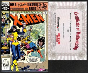 X-Men #153 VF+ 8.5 Signed by Jim Shooter with COA!