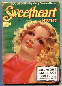 Sweetheart Stories Pulp December 1938- Midnight Marriage