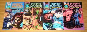 Puppet Master #1-4 VF/NM complete series new adventures full moon movies comics