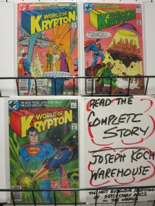 WORLD OF KRYPTON (1979) 1-3  HOWARD CHAYKIN