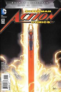 Action Comics (2011 series) #50, Fine- (Stock photo)