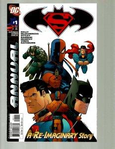 12 Comics ANN '06 Super vs Bat 25 26 New Krypton 1 3 Silver 1-2 War 0-4 GK45