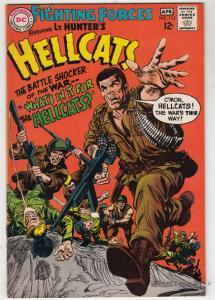 Our Fighting Forces #112 (Apr-68) VF High-Grade Lt. Hunter, the Hellcats (Bru...