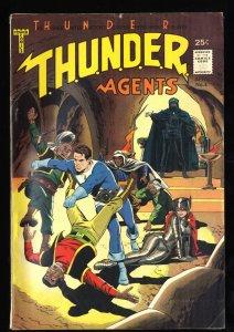 T.H.U.N.D.E.R. Agents #4 FN+ 6.5